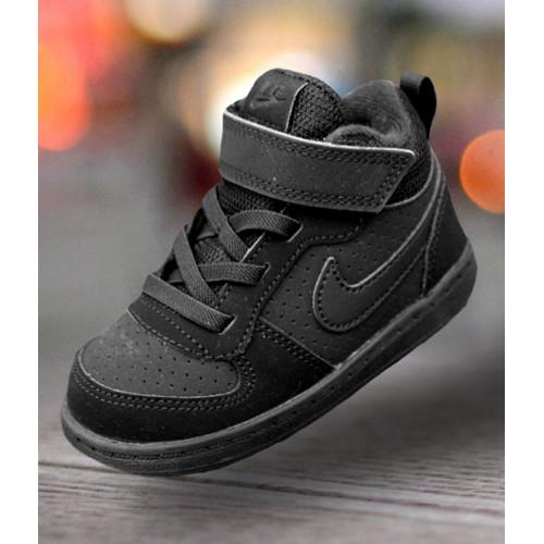newest a97ba d5894 Nike Court Borough Mid (TDV) Black