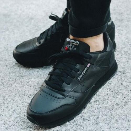 Reebok Classic Leather Black 9edcb20940d33